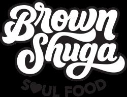 Brown Shuga Soul Food Logo